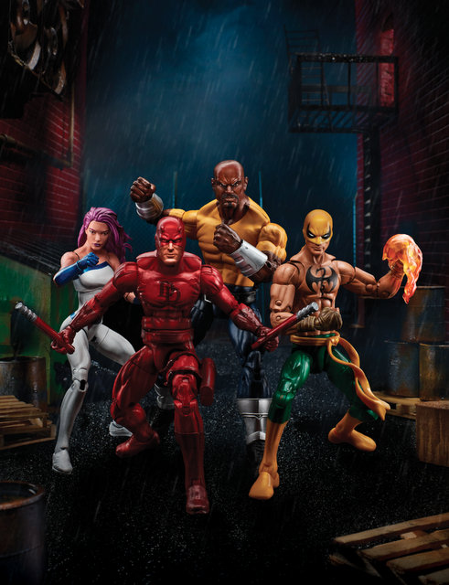 Marvel Legends Series 6-inch Defenders - exclusive