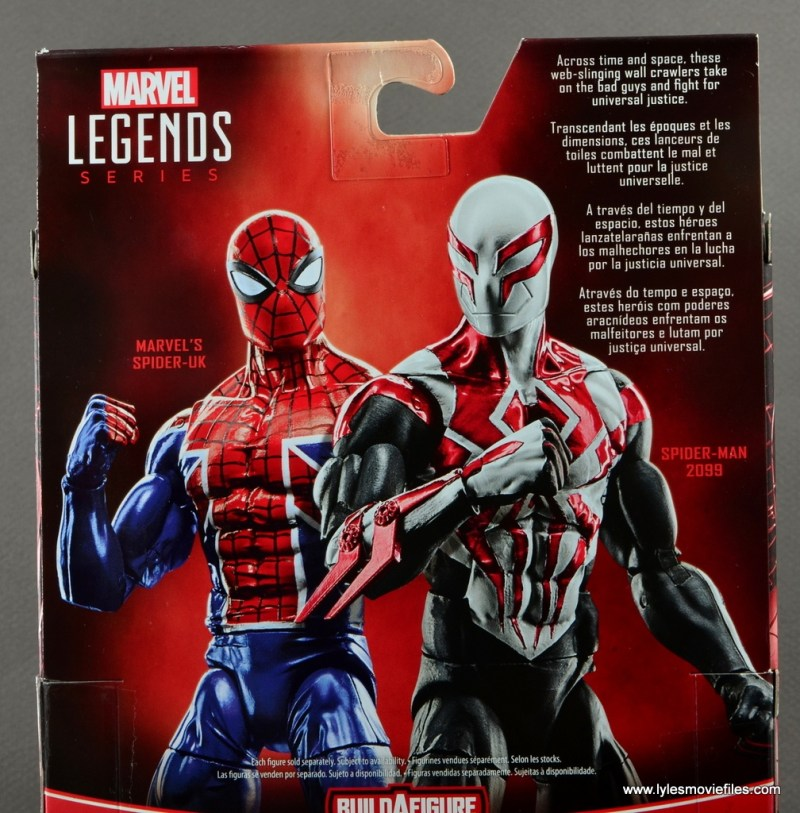 Marvel Legends Spider-Man 2099 figure review - bio