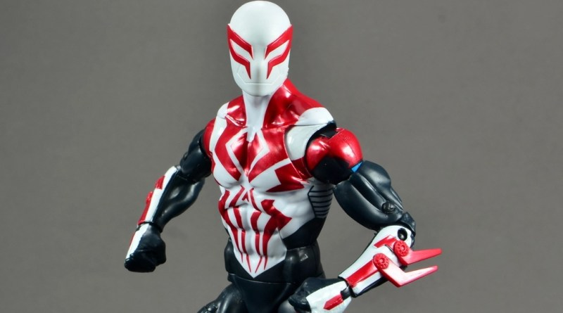 Marvel Legends Spider-Man 2099 figure review - main