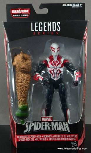 Marvel Legends Spider-Man 2099 figure review - package front