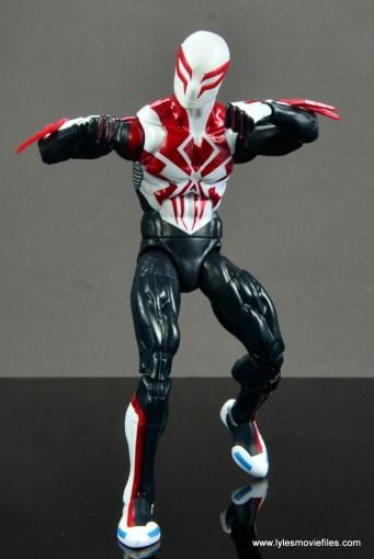 Marvel Legends Spider-Man 2099 figure review - ready for battle