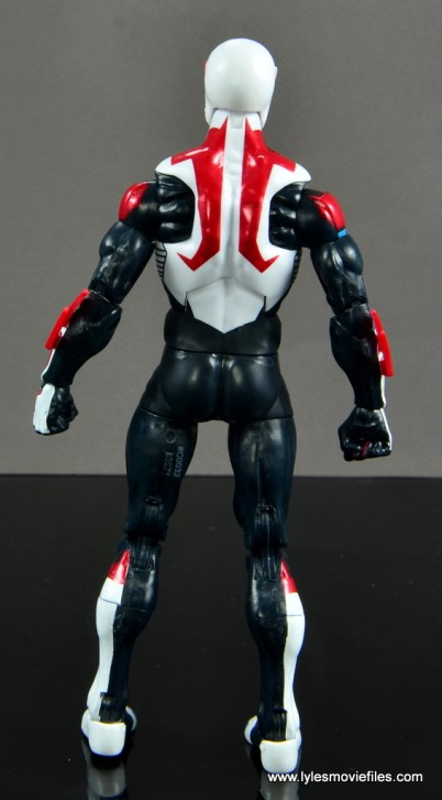 Marvel Legends Spider-Man 2099 figure review - rear