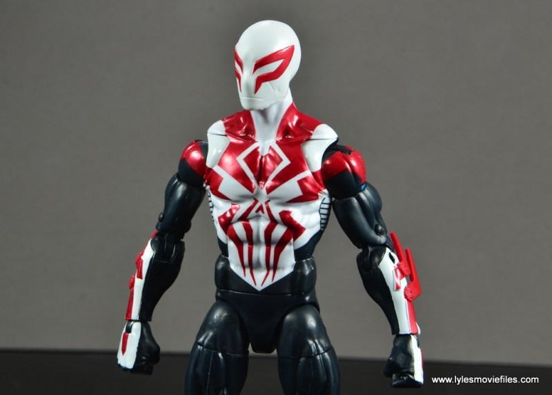 Marvel Legends Spider-Man 2099 figure review - side portrait