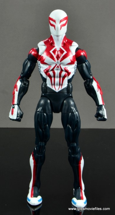 Marvel Legends Spider-Man 2099 figure review - straight