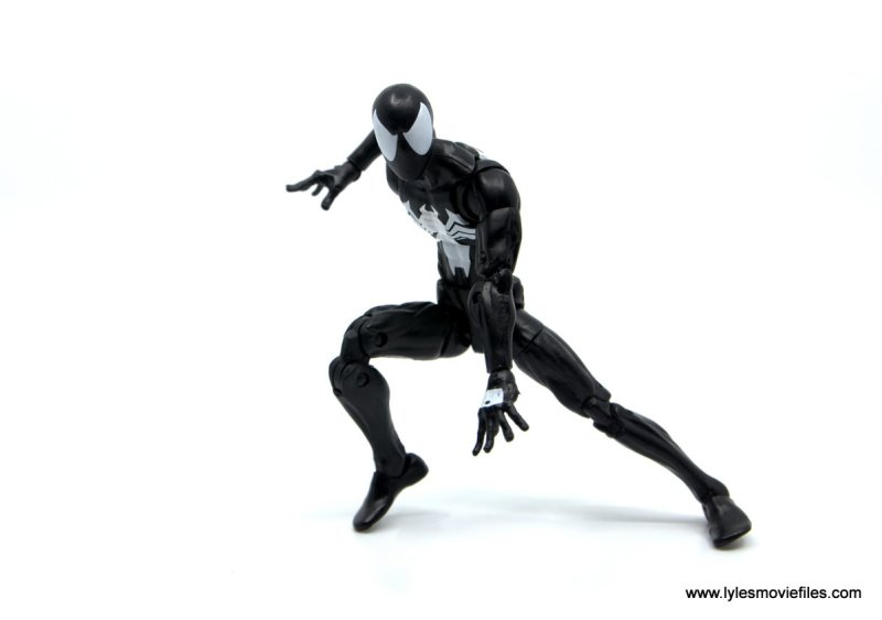 Marvel Legends Symbiote Spider-Man figure review - ready for battle