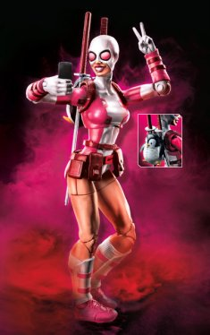 Marvel Spider-Man Legends Series 6-inch Gwenpool