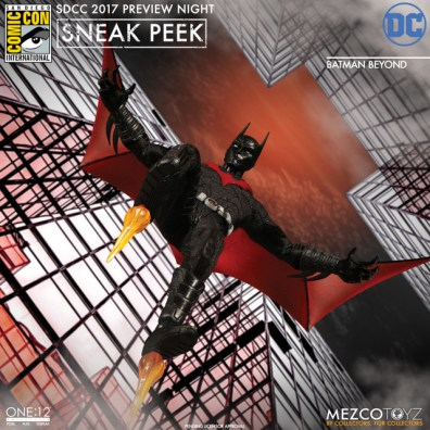 Mezco Toyz SDCC 2017 Preview Night One 12 Batman Beyond