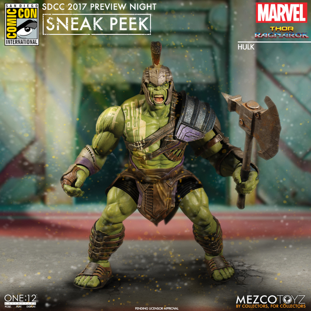 Mezco Toyz SDCC 2017 Preview Night One 12 Hulk from Thor Ragnarok - Copy