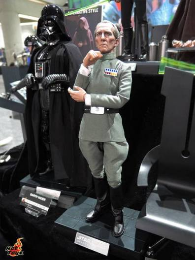 SDCC 2017 new Hot Toys Moff Tarkin
