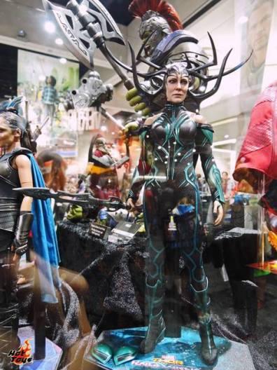 SDCC 2017 new Hot Toys Thor Ragnarok Hela