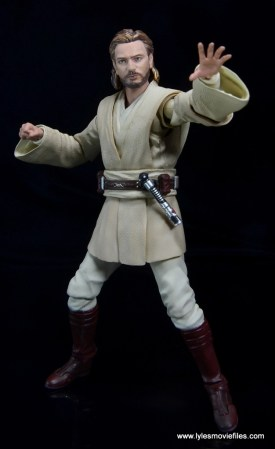 SH Figuarts Star Wars Obi-Wan Kenobi figure review -Force push