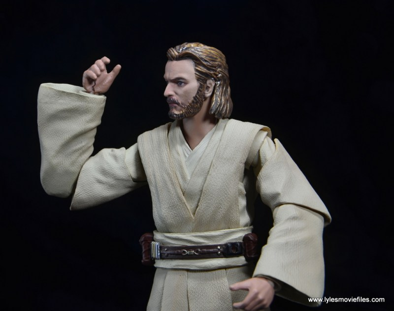 SHFiguarts Star Wars Obi-Wan Kenobi figure review -cracked hand