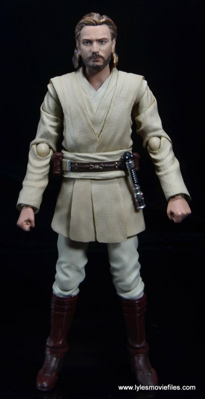 SHFiguarts Star Wars Obi-Wan Kenobi figure review -front