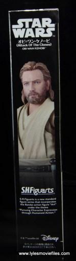 SHFiguarts Star Wars Obi-Wan Kenobi figure review -package side