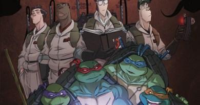SDCC 2017: Teenage Mutant Ninja Turtles/Ghostbusters 2 announced