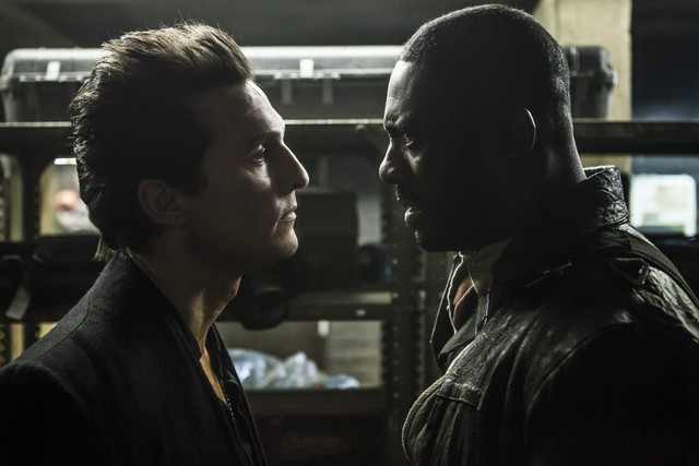 The Dark Tower - Matthew McConaughey and Idris Elba