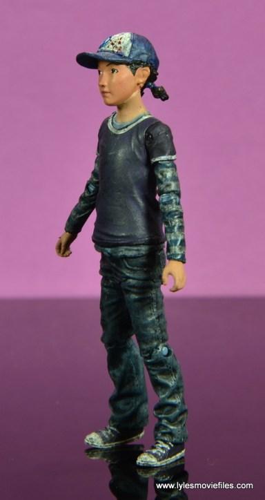 The Walking Dead Telltale Games Clementine figure review -left side