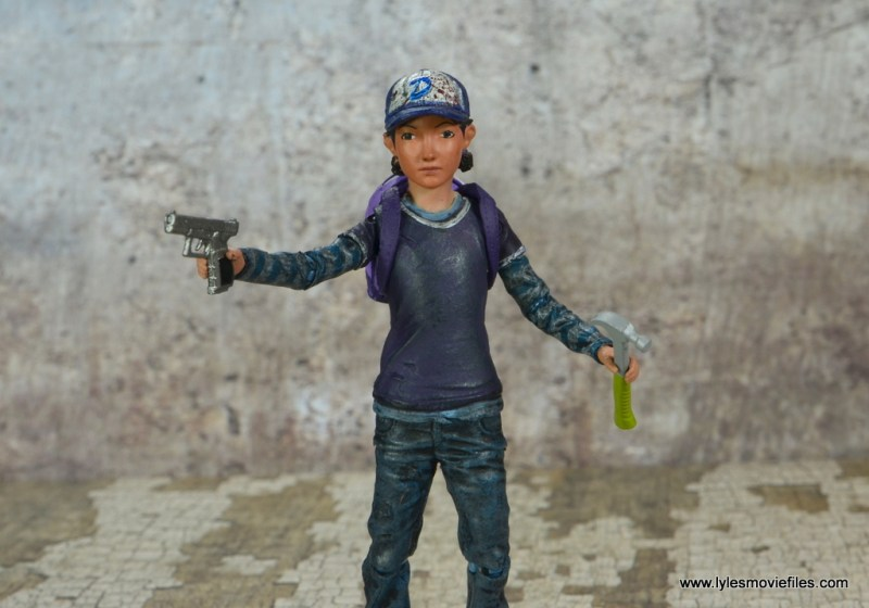The Walking Dead Telltale Games Clementine figure review - with accessories