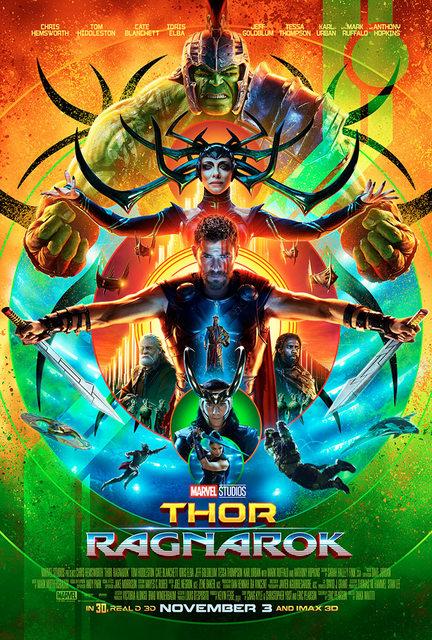 Thor Ragnarok payoff poster