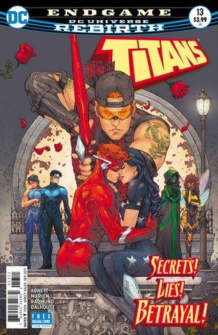 Titans #13 cover