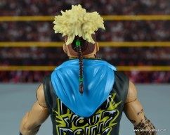 WWE Elite Big Cass and Enzo figure review -Enzo head detail rear
