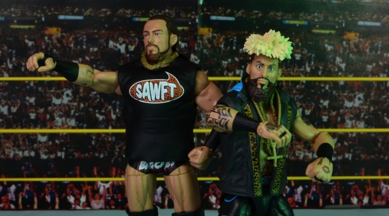 WWE Elite Big Cass and Enzo figure review -main pic