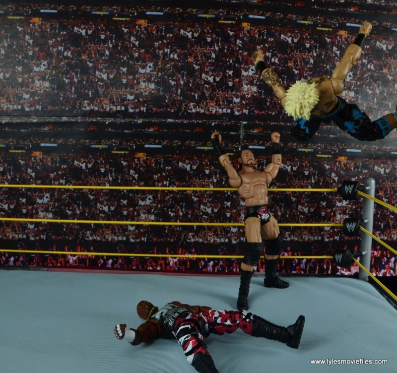 WWE Elite Big Cass and Enzo figure review -rocket launcher