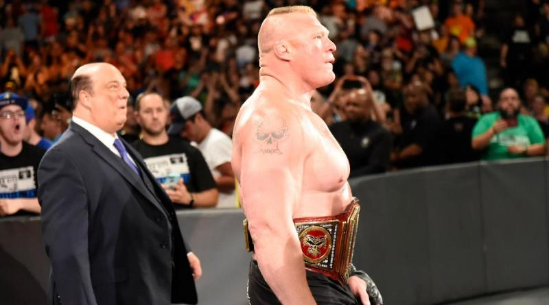 WWE Great Balls of Fire Paul Heyman and Brock Lesnar