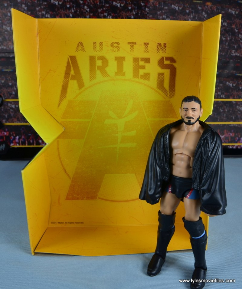 WWE NXT TakeOver Austin Aries figure review -with inner lining