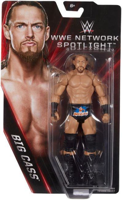 WWE Network Spotlight Big Cass figure