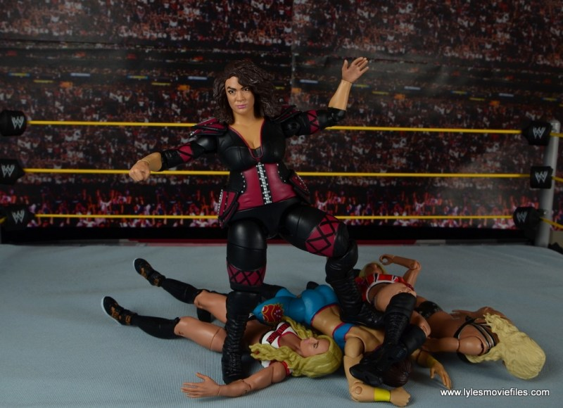 WWE Nia Jax figure review - standing tall
