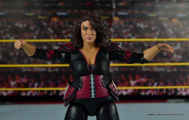 WWE Nia Jax figure review - wide shot