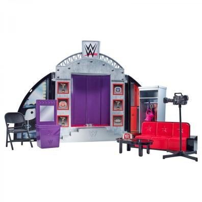 WWE Superstars Ultimate Entrance playset rear
