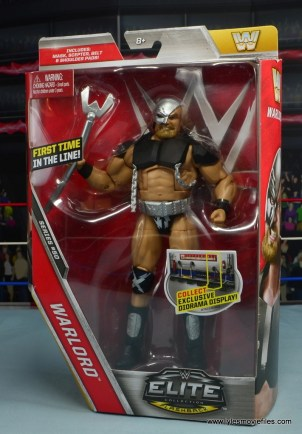 WWE The Warlord figure review -package front
