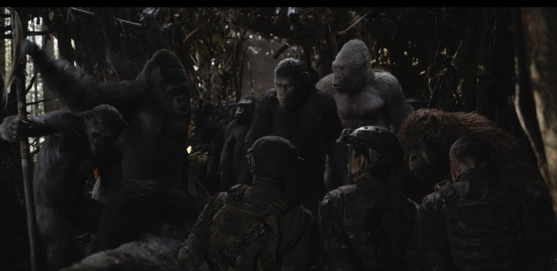 War for the Planet of the Apes review - Caesar, Maurice, Winter