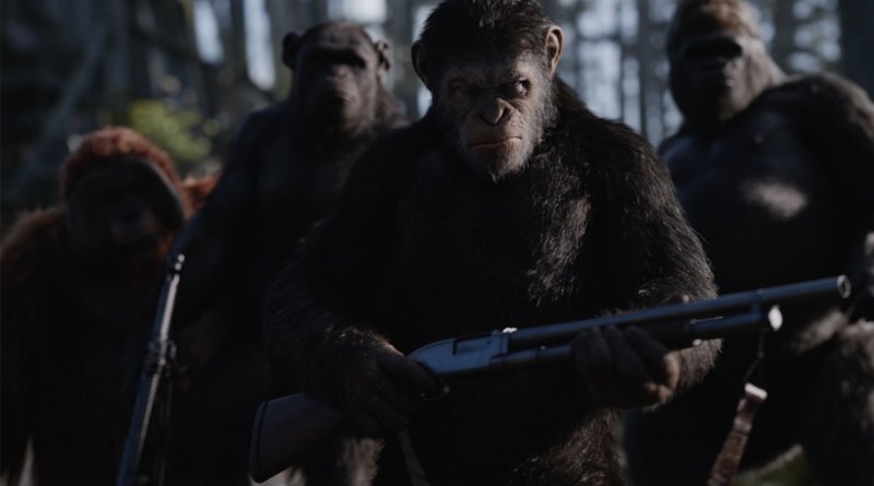 War for the Planet of the Apes review - Caesar and the apes