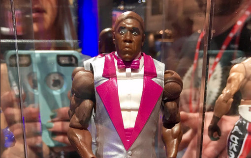 wwe Virgil figure from Mattel WWE Day 2