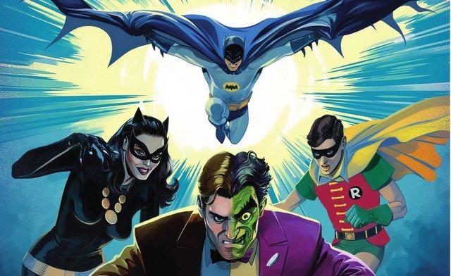 Batman vs Two Face main image