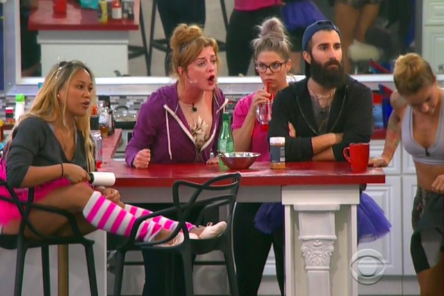 Big Brother 19 Alex, Raven, Paul and Christmas
