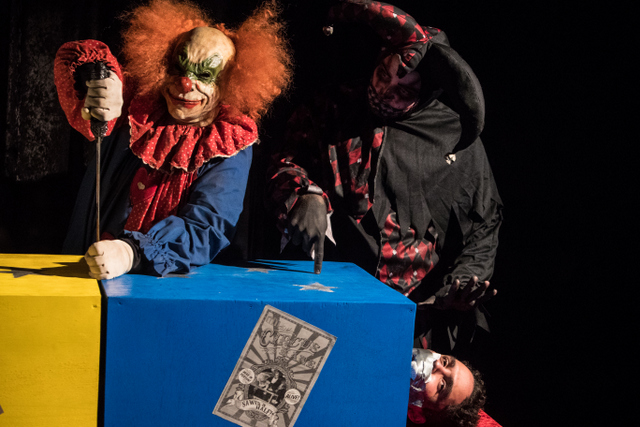 Circus Kane movie review - sawing in half