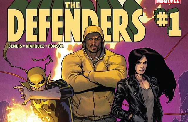Defenders #1 cover
