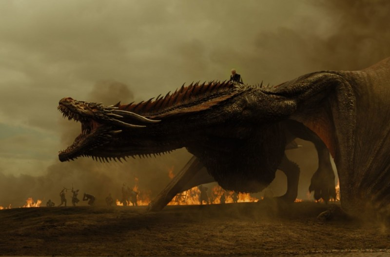 Game of Thrones The Spoils of War review - Daenerys and dragon