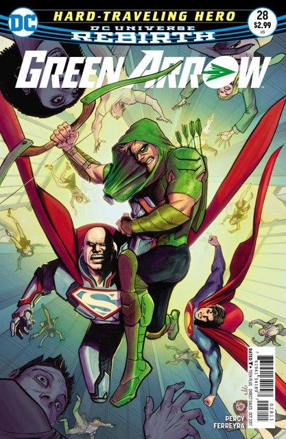 Green Arrow #28 cover