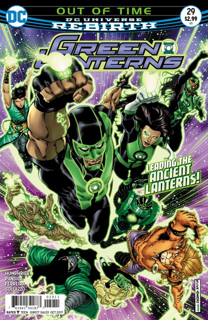 Green Lanterns #29 cover