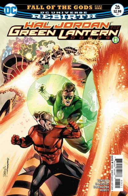 Hal Jordan and the Green Lantern Corps #26 cover