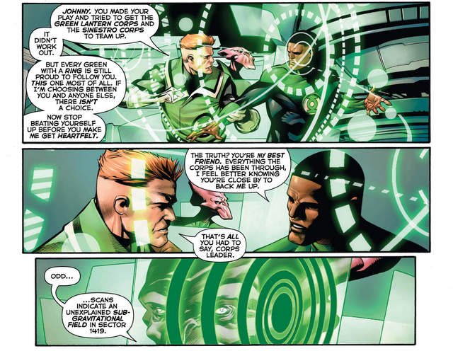 Hal Jordan and the Green Lantern Corps #26 interior