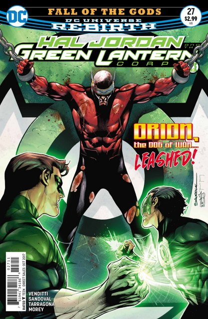 Hal Jordan and the Green Lanterns Corps #27 cover
