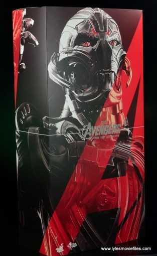 Hot Toys Avengers Ultron Prime figure review -front package
