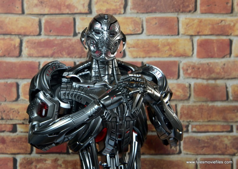 Hot Toys Avengers Ultron Prime figure review -scheming