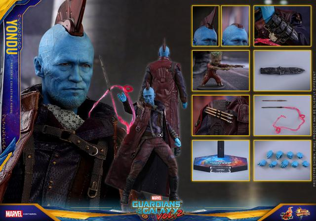 Hot Toys Guardians of the Galaxy Vol. 2 Yondu figure -collage